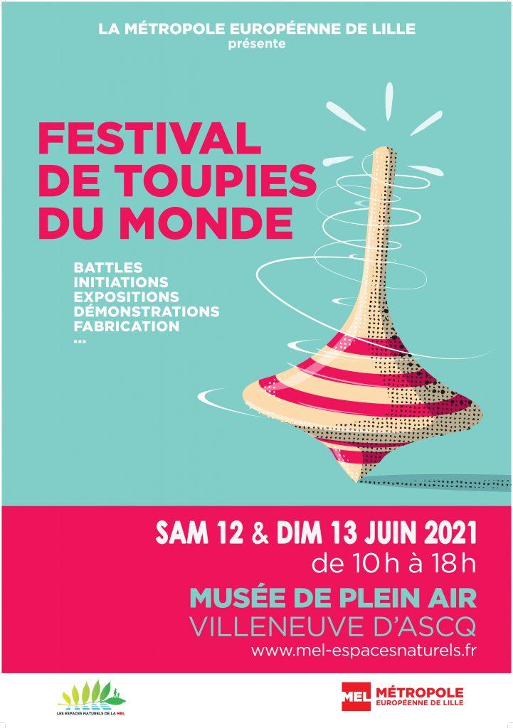 Festival de Toupies du Monde 2021 à Lille