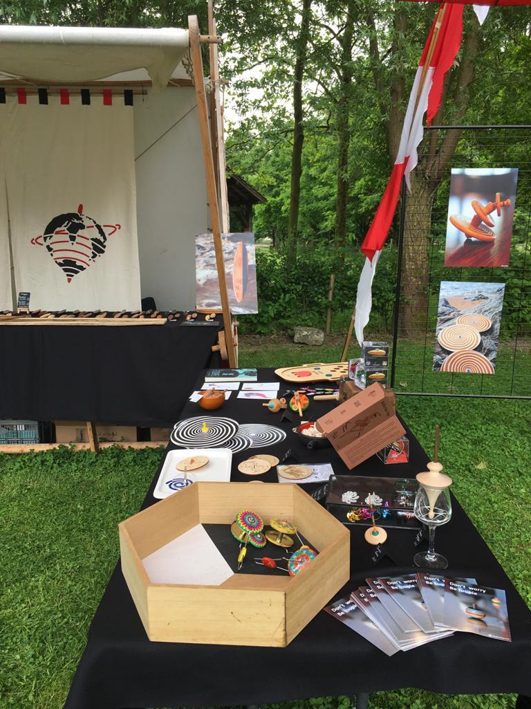 ToupieShop au Festival de Toupies de Villeneuve d'Ascq à Lille